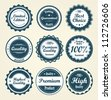 Collection of labels. Vector - stock vector