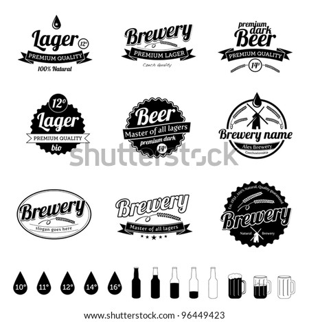 Craft Brewery Labels Brewery Template Labels in