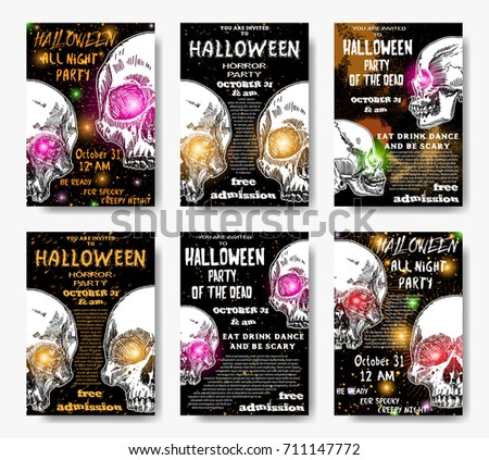 halloween invitations backgrounds festival collections