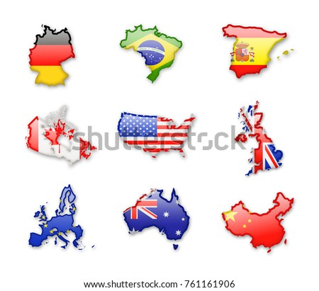 Largest Country In The World Stock Images RoyaltyFree Images - Largest countries in the world