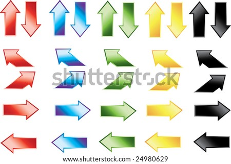 color arrow icons
