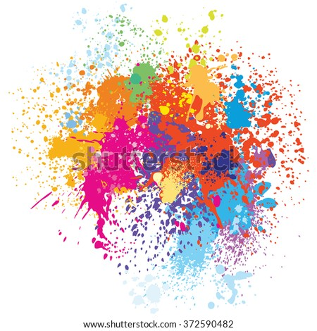 Color background - stock vector