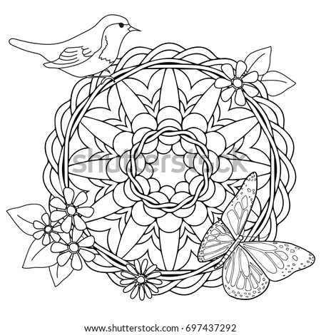 Color Coloring Page For Kids And Adults