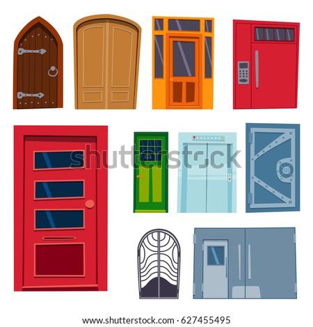 room doors vector art - photo #25