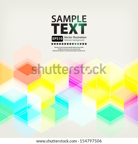 Color eps10 vector background - stock vector