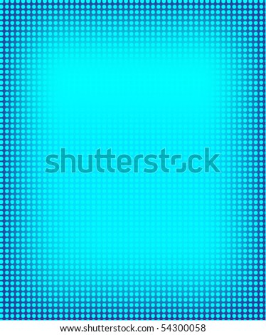 Color halftone background - stock vector
