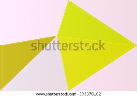color illustration triangle mosaic art colorful background