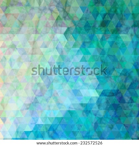 Color magic pattern of geometric shapes. Colorful mosaic banner. Bright colorful flying arrows on a fantastic design background. Vector illustration for your business  - stock vector