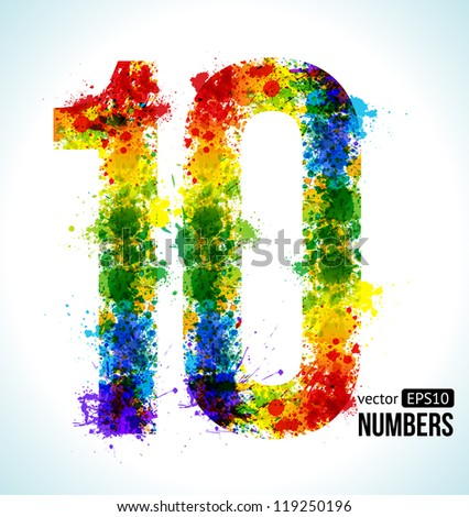 Number 10 Stock Photos, Images, & Pictures | Shutterstock