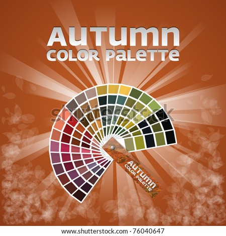 Color pallete set of four - AUTUMN