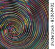 Color spiral vector - stock photo