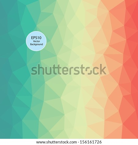 color theme vector abstract background - stock vector