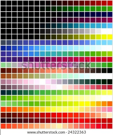 color tones dynamic transformations - stock vector