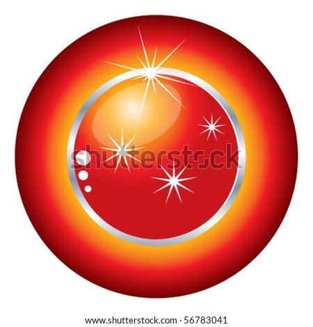 color vector buttons - stock vector