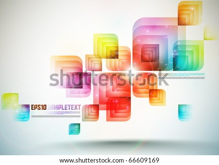 Color Vector Element - stock vector
