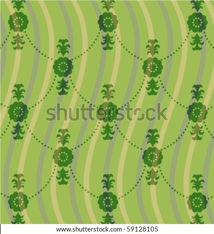 Color vector pattern with flower