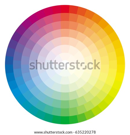 Color Wheel Palette 635220278