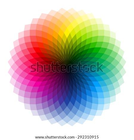 Color Wheel Vector 292310915