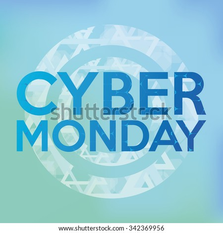 Colored backgrounds with text for cyber monday sales