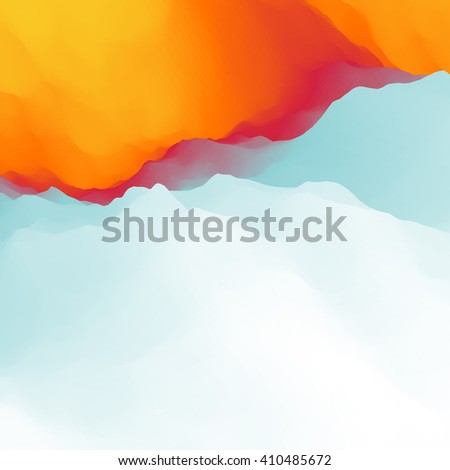 Colorful Abstract Background. Design Template. Modern Pattern. Vector Illustration.