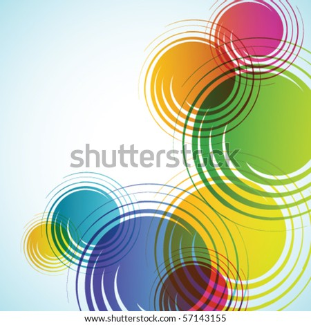 Colorful abstract background textures - trendy business  template with copy space Contemporary texture - stock vector