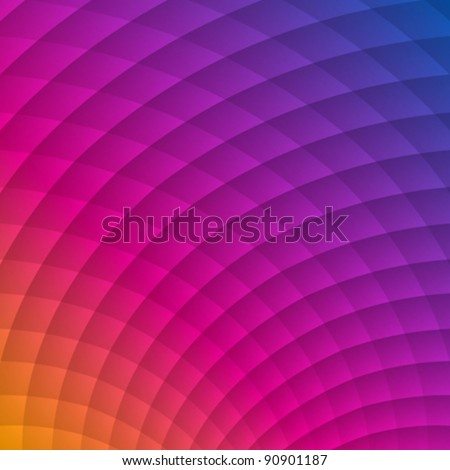 Colorful abstract geometric shadow lines vector background. Eps 10. - stock vector