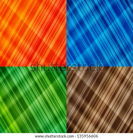 Colorful Abstract Gradient Backgrounds - stock vector