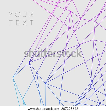 Colorful Abstract Lines |  - stock vector