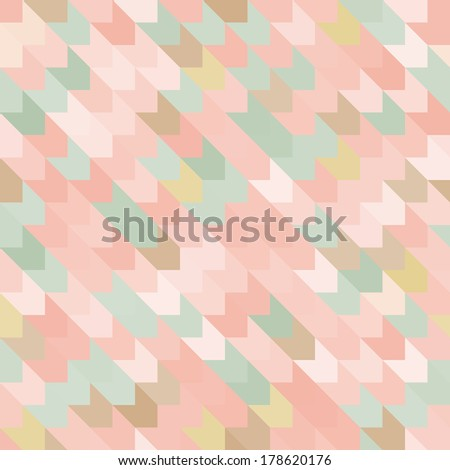 Colorful abstract seamless pattern. Seamless pattern can be used for wallpaper, pattern fills, web page background, surface textures. - stock vector