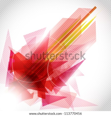 Colorful abstract vector background - stock vector