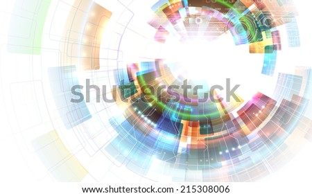 Colorful abstraction - stock vector
