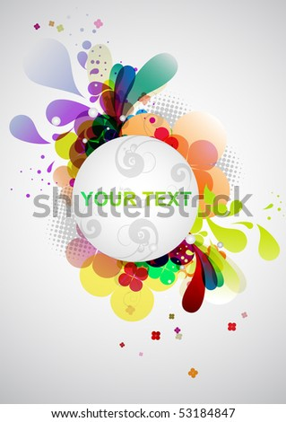 Colorful background. - stock vector