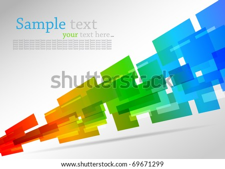 Colorful background. Abstract vector illustration - stock vector