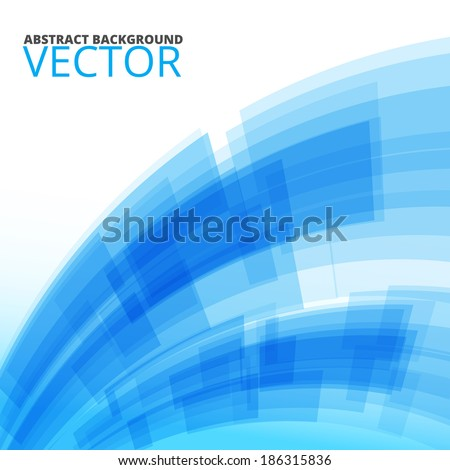 Colorful background blue tech design, vector illustration - stock vector