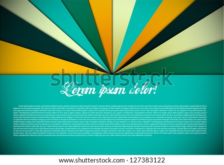 Colorful background design - stock vector
