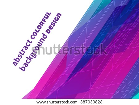 Colorful background design (eps10)