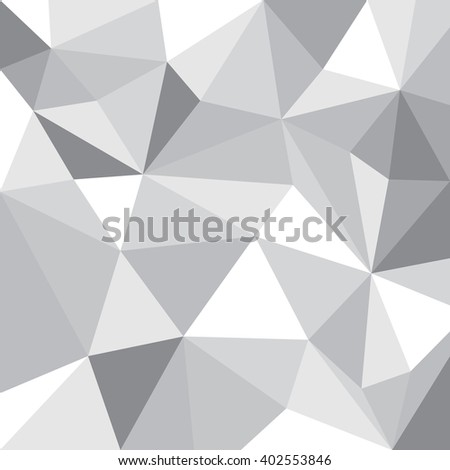 Colorful background illustration, pattern made from triangles - stock vector