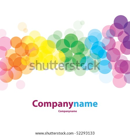 Colorful Background Vector - stock vector