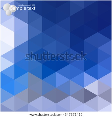 Colorful background. Vector geometric shapes. - stock vector