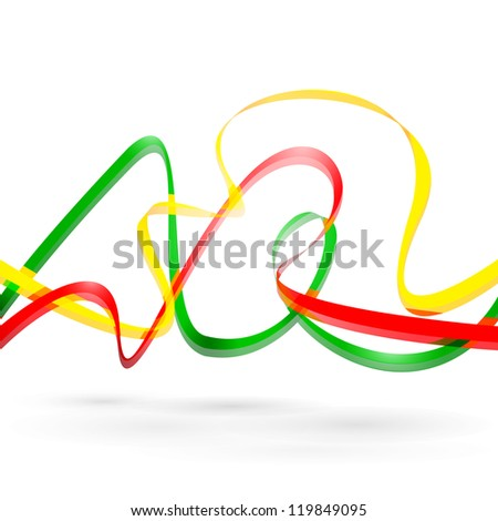 Colorful background with designed elegant abstraction. Vector illustration.