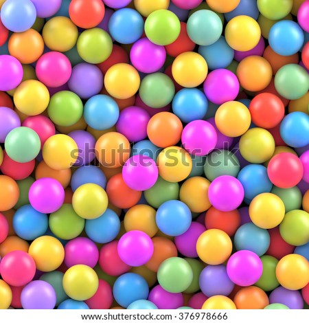 Colorful balls background. Vector background made with gradient meshes. Background design for banner, poster, flyer, card, postcard, cover, brochure.