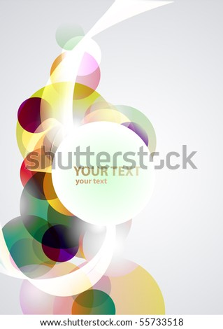 Colorful banner - stock vector