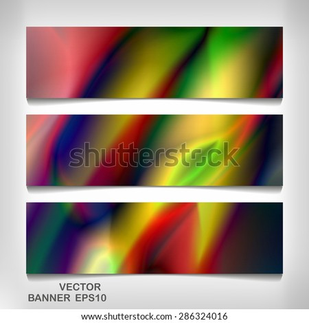 Colorful banner for your design eps 10, vector elegant illustration