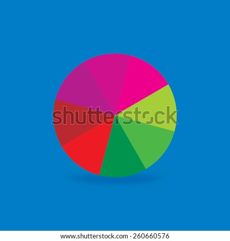 colorful bar code tag concept  - stock vector