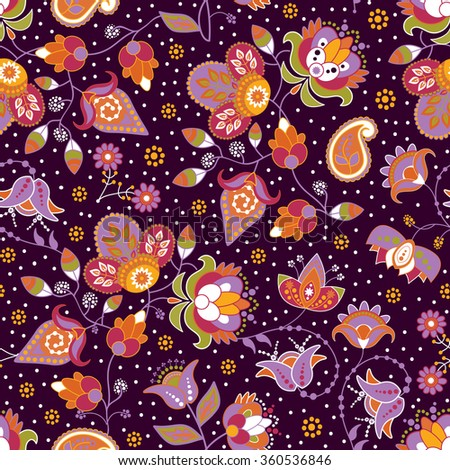 Colorful bright seamless pattern. Colorful vector background - stock vector