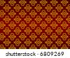 Colorful bright wallpaper pattern background - stock vector