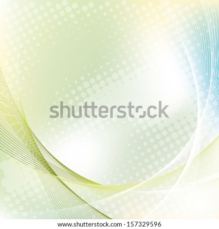 colorful business background with halftone, abstract vector illustration - stock vector