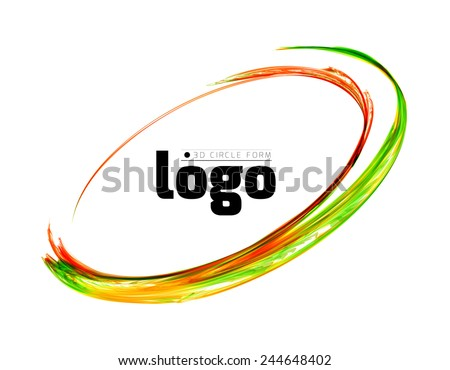 Colorful circle vector illustration - stock vector