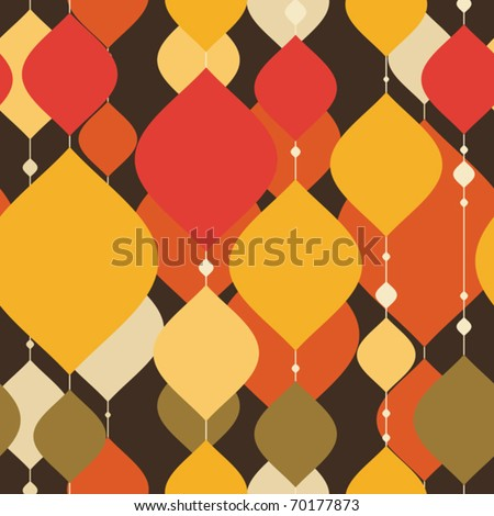 Colorful decorative seamless - stock vector