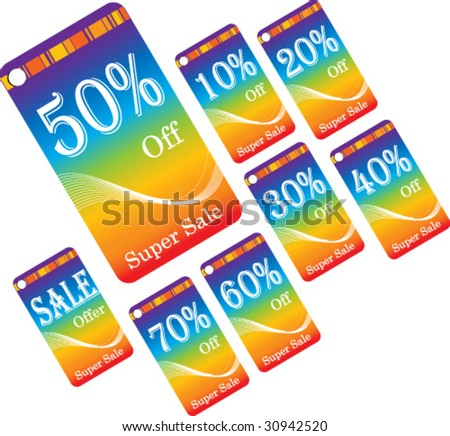 Colorful Discount Cards